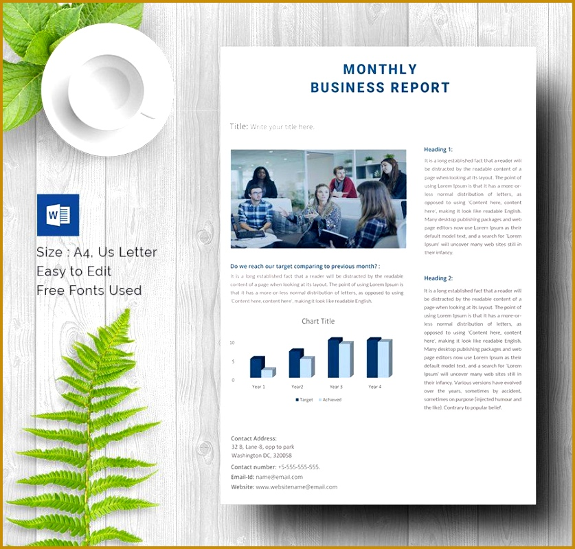 Business report template word datariouruguay business report template business report free premium accmission Image collections