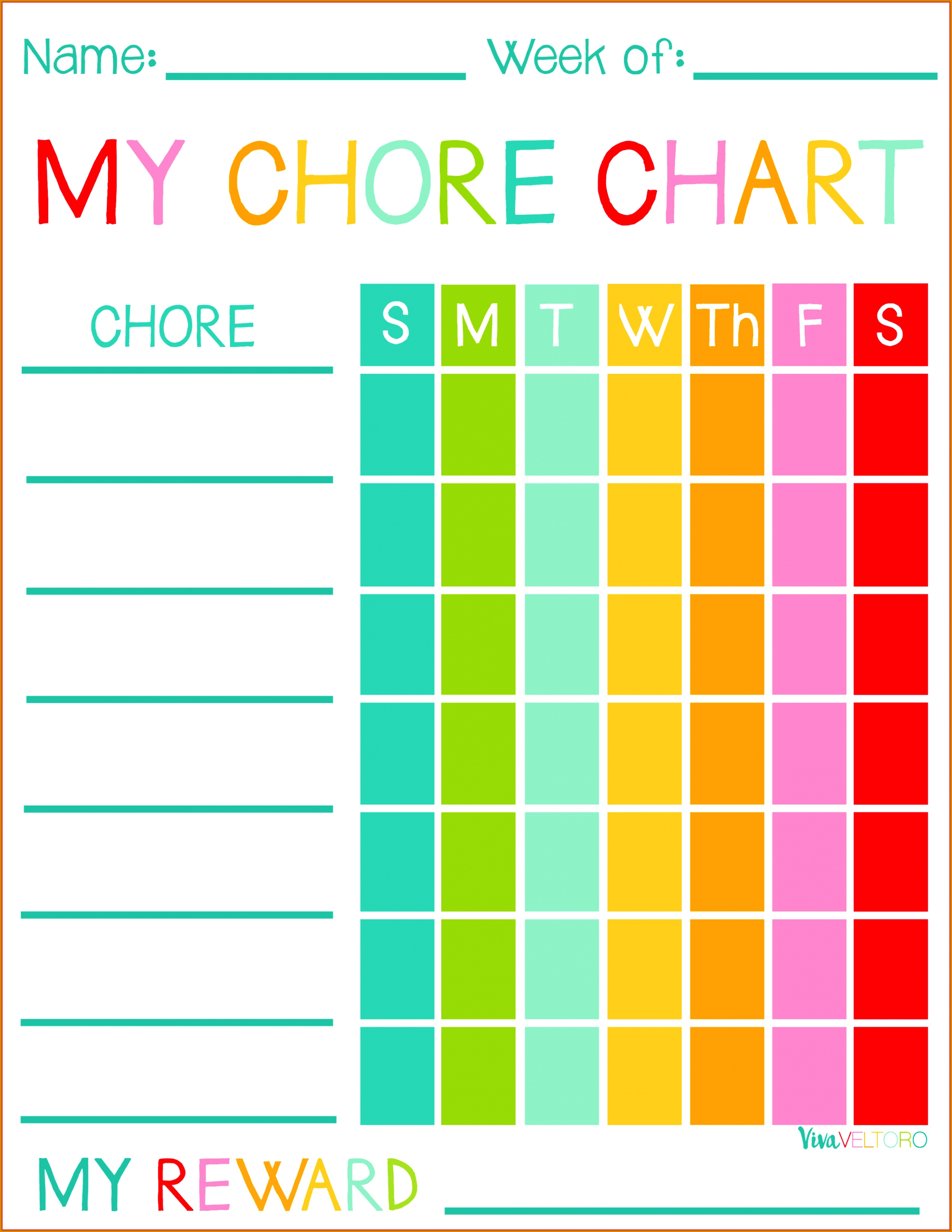 free printable chore chart templates best of kids chore chart memo header 30682371