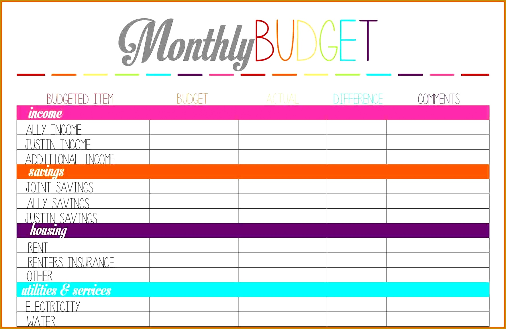 Sheet Template i keep the house running part u pinteresu printable monthly bud planner template inside 11491766