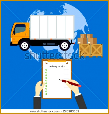 Vector modern creative flat style concept design on worldwide delivery service featuring globe cardboard boxes 437418