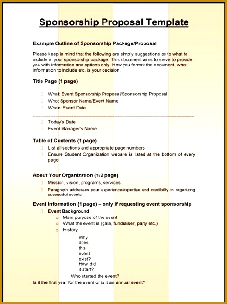3 Sponsorship Proposal Templates 622465