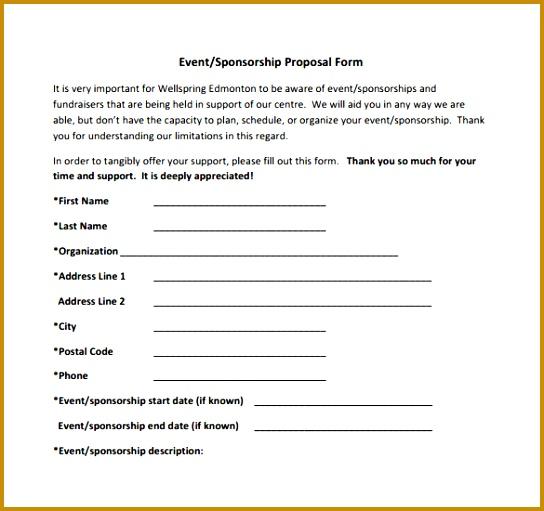 Sponsorship Template 28 40 Letter 511544