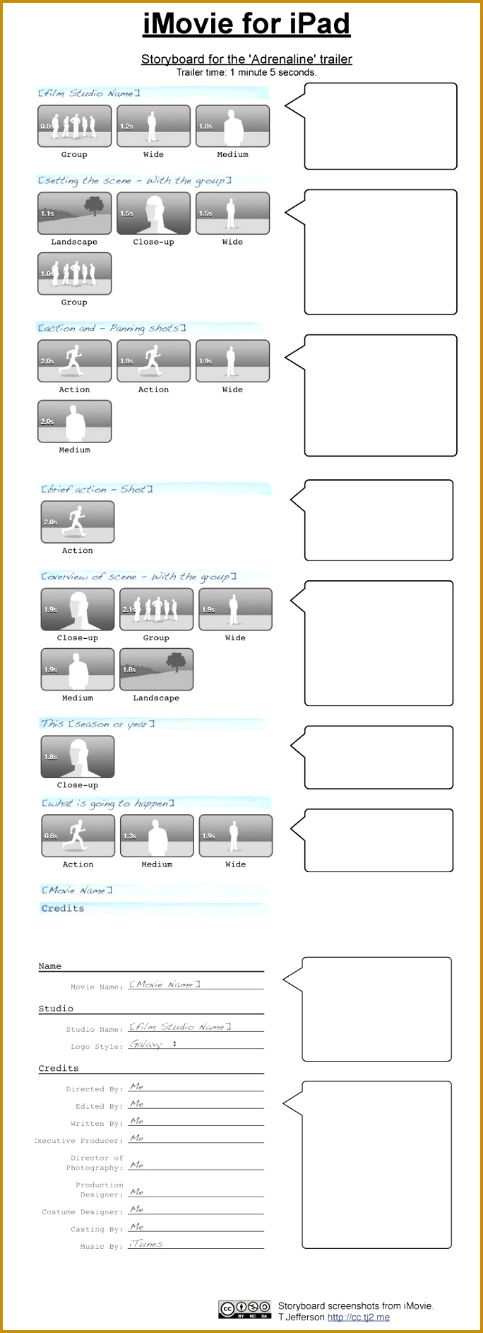 storyboard template app - 3 movie storyboard template word fabtemplatez