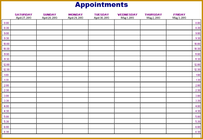 7 nail salon sign in sheet template fabtemplatez for Nail salon sign in sheet template