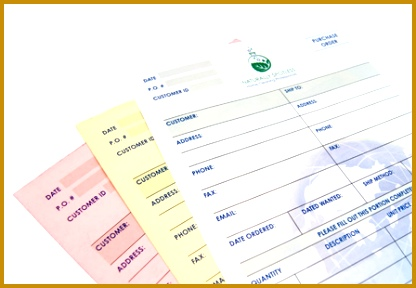 3 Part NCR Forms 288416