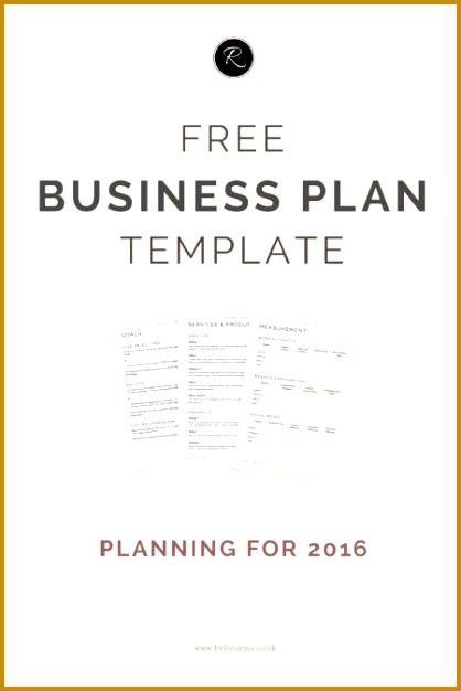 A Business Plan for 2016 626418