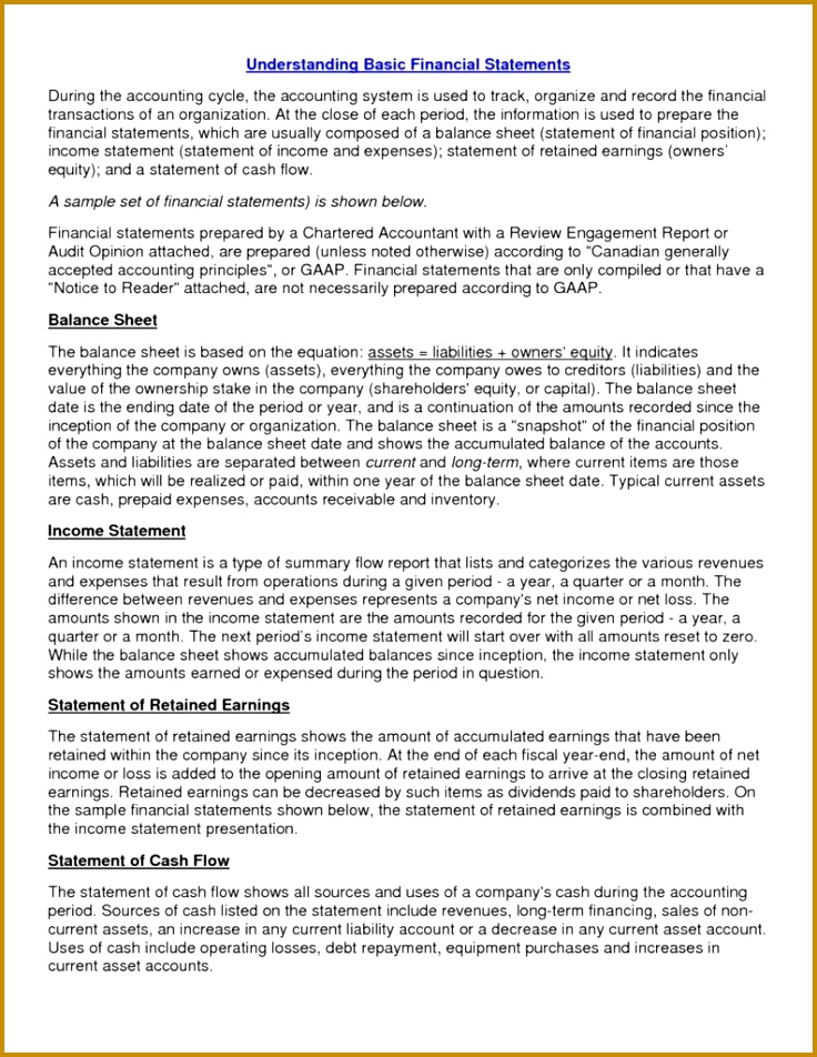 6 Non Profit Balance Sheet Template Excel