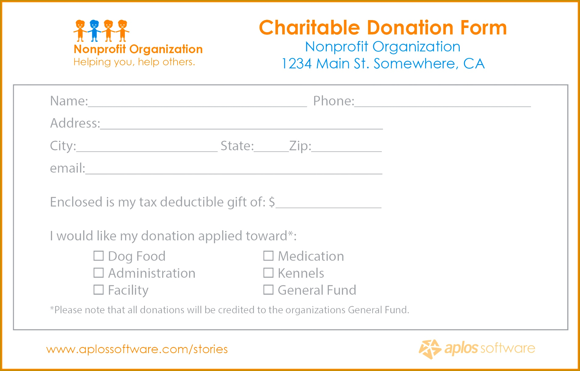 5 Donations Form Template Mail Clerked Donations Form Template Sample Donation Pledge Form 5 Donations Form 12211905