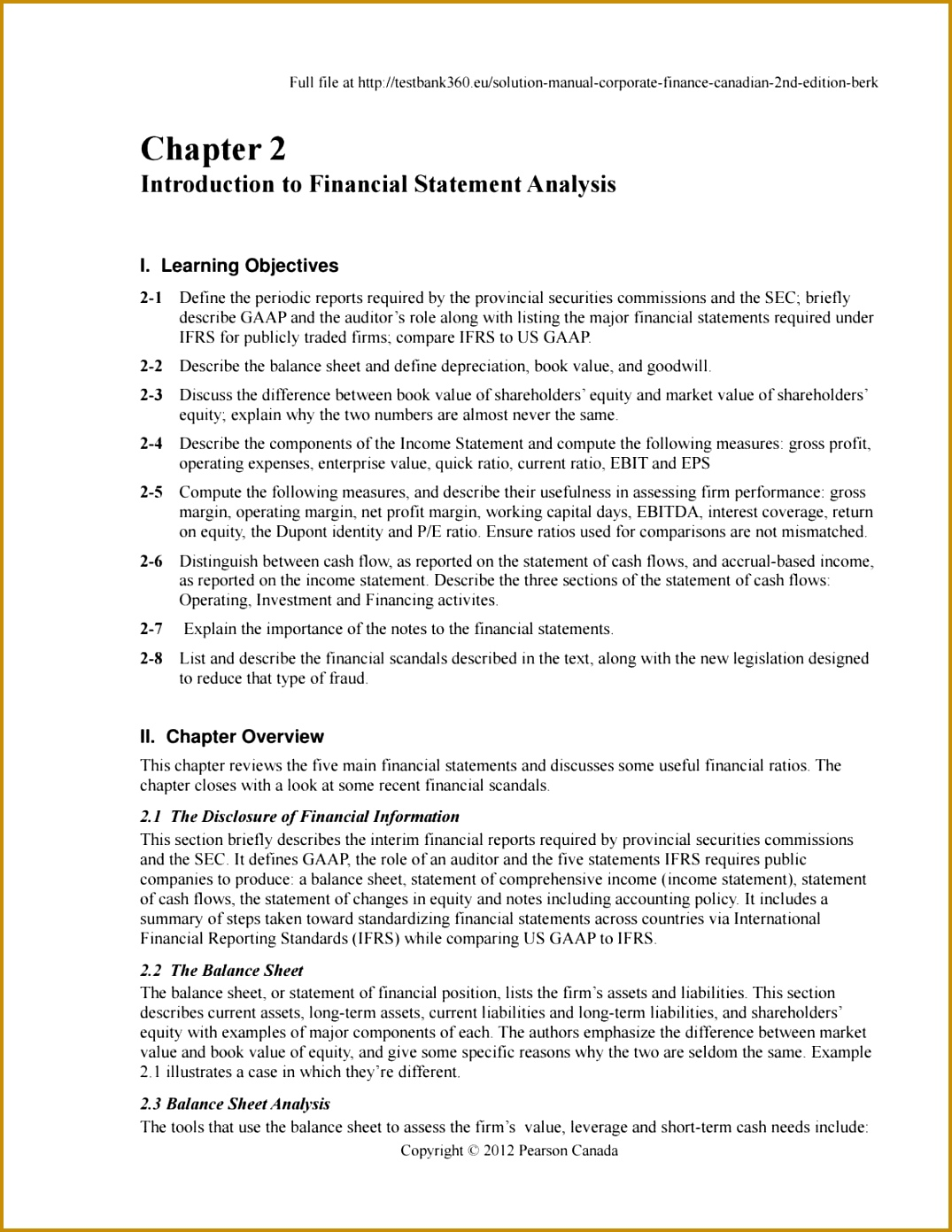 5 Notes To Financial Statements Template | FabTemplatez