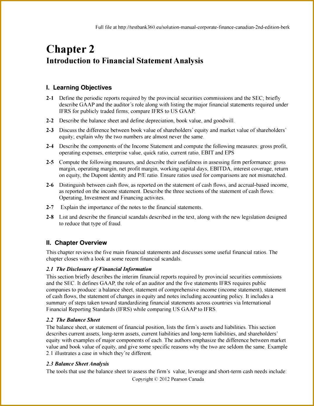 gaap cash flow statement template