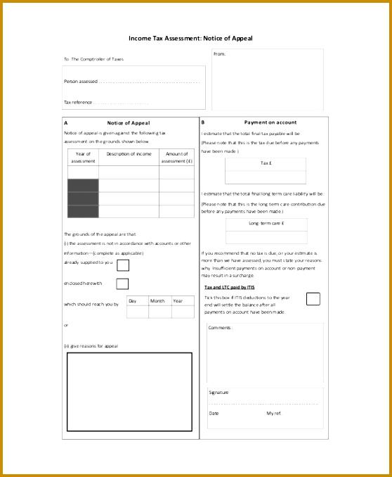 In e Tax Assessment 678558