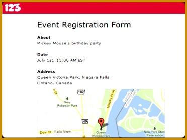 Free line Event Registration Form & Software 279372