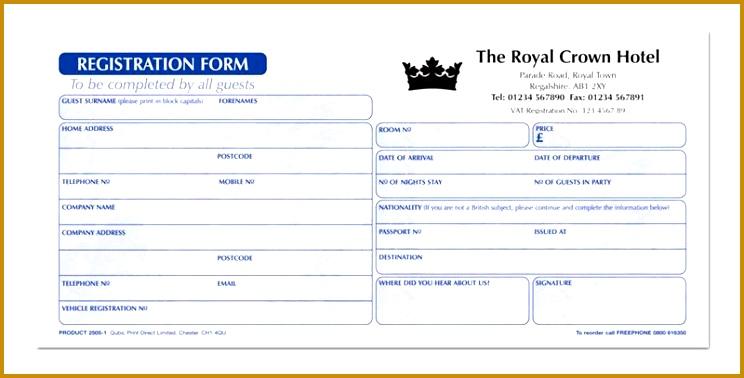 Royal Crown hotel registration form 378744