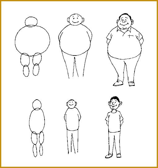 cartoon body outline 10 545511