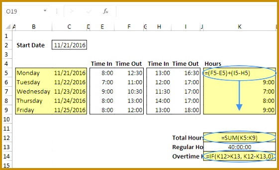 Time Formulas 561341