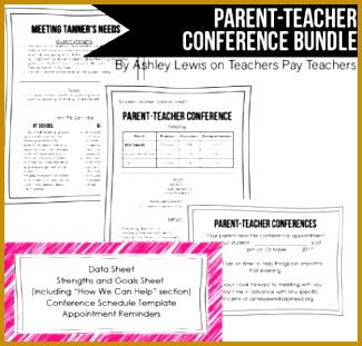 7 Parent Teacher Conference Sign Up Sheet Template | FabTemplatez