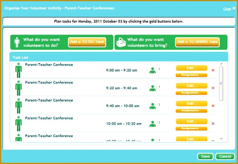 7 Parent Teacher Conference Sign Up Sheet Template FabTemplatez