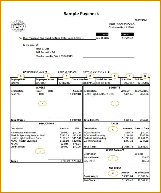 5 Payroll Register Excel   FabTemplatez