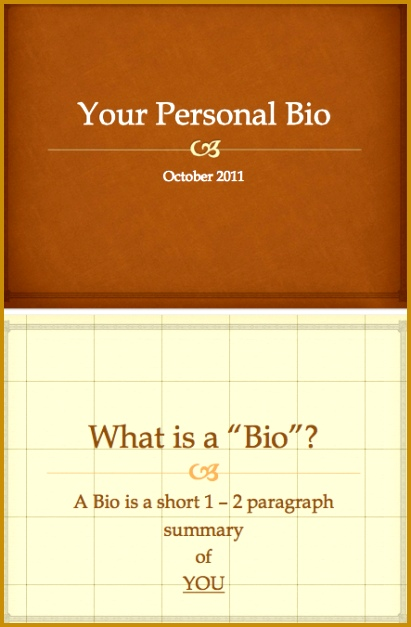 Biography template 627411