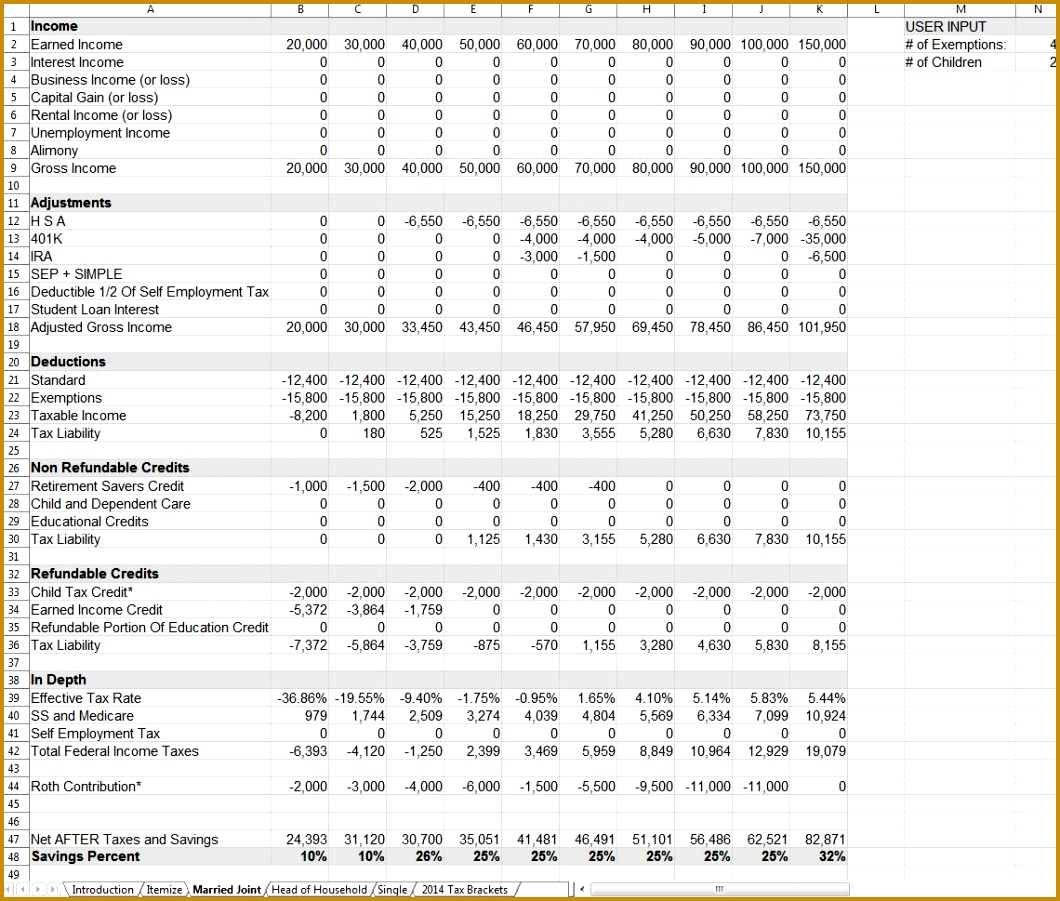 Tax Planning Spreadsheet Tax Planning Spreadsheet Financial Spreadsheet 9011060