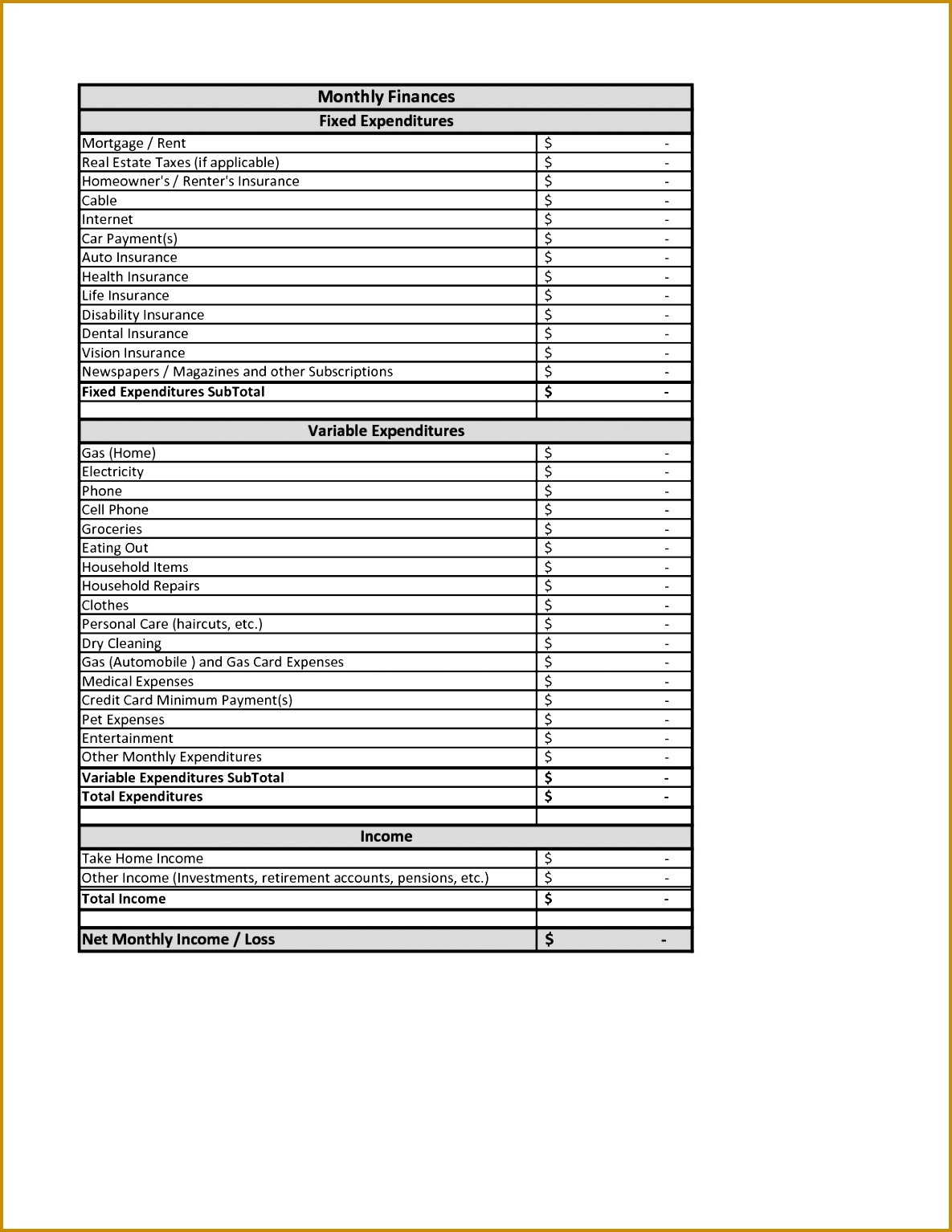 Financial planning worksheets photo gallery of the retirement personal financial planning spreadsheet templates 15341185 alramifo Choice Image