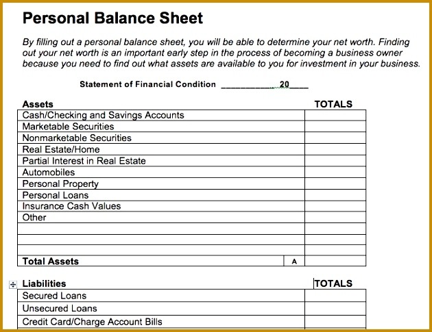 More from Business Blank Yearly Balance Sheet Excel Template Free Download For Personal 485630