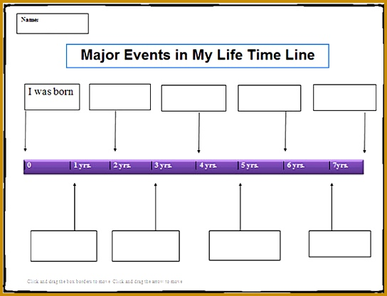Editable Personal My Life Time Line Template Free Doc 416544