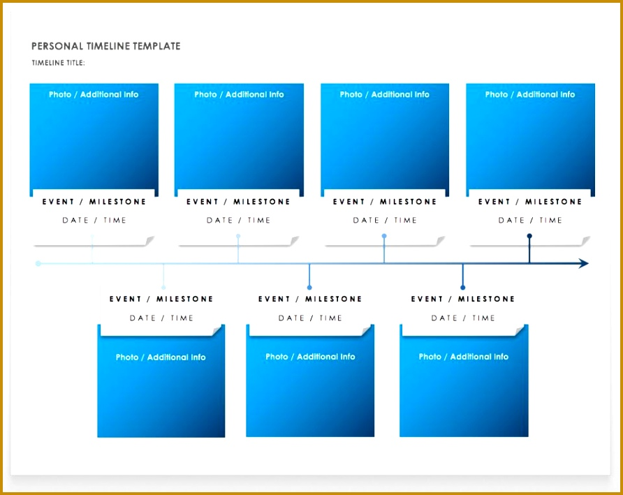 Personal Timeline Template Word 892709
