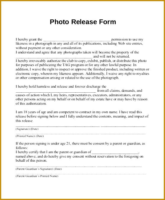free model release form 678558