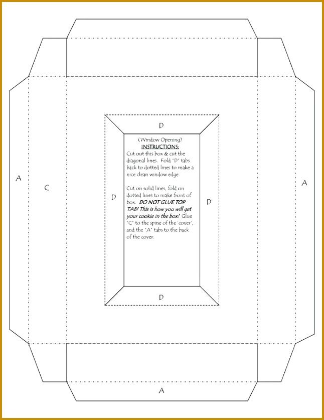 Cuboid Template Faceboul 837646