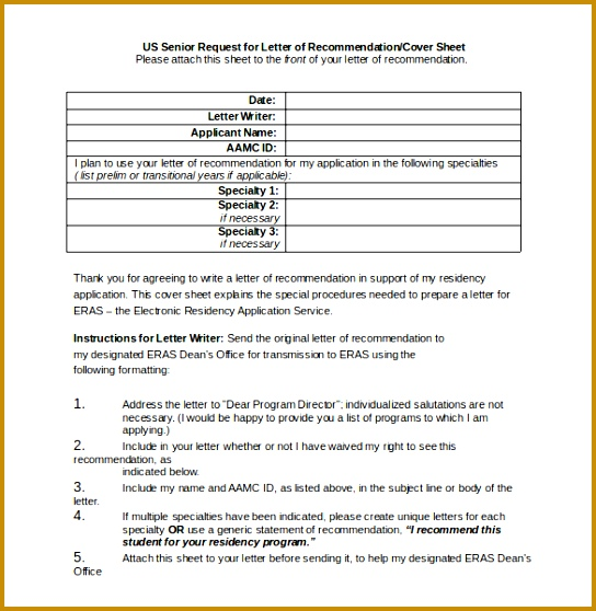 Letter of Privacy Act Cover Sheet Word Document Free Download 558544