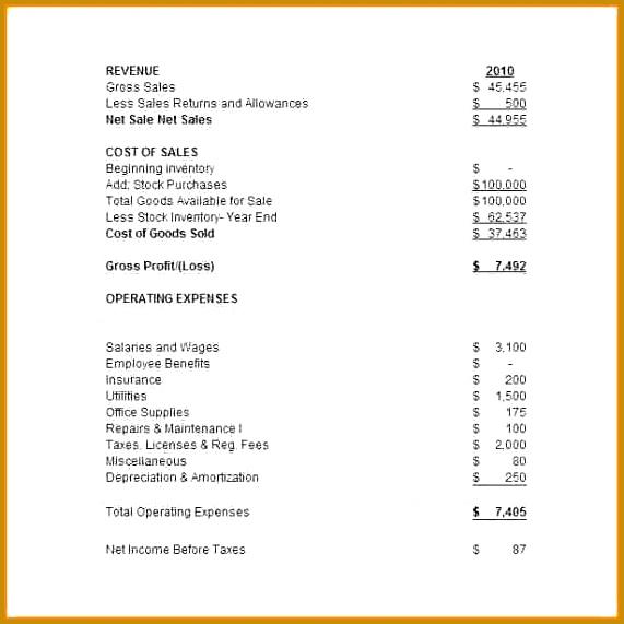 pro forma financial statements template 6e0c edcf dc8cf9e5995b4cdac7 large 571571