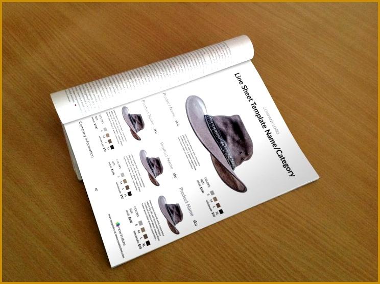 hat line sheet template 744556