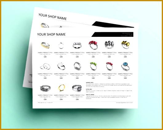 Linesheet Template Wholesale Linesheet Product Sheet Table 424530
