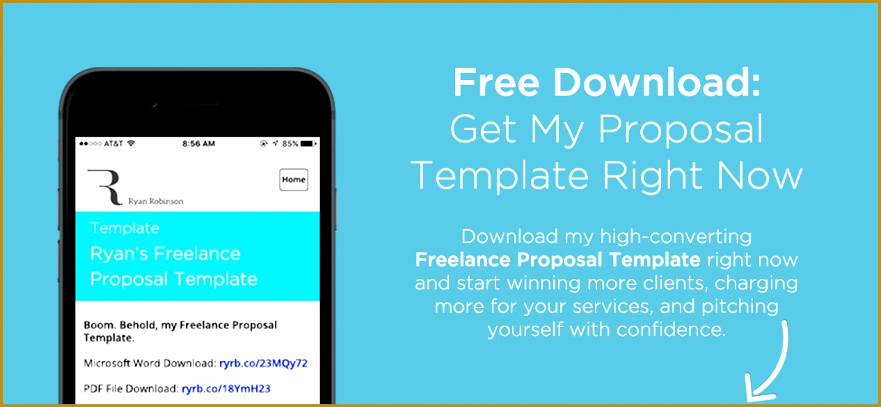 Freelance Proposal Course Free Download Popup with Image 5851266
