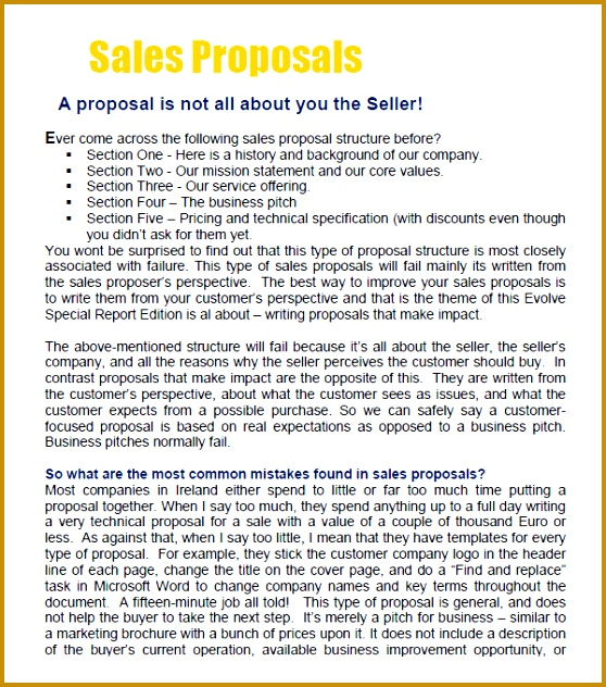 sales proposal cover letter 632558