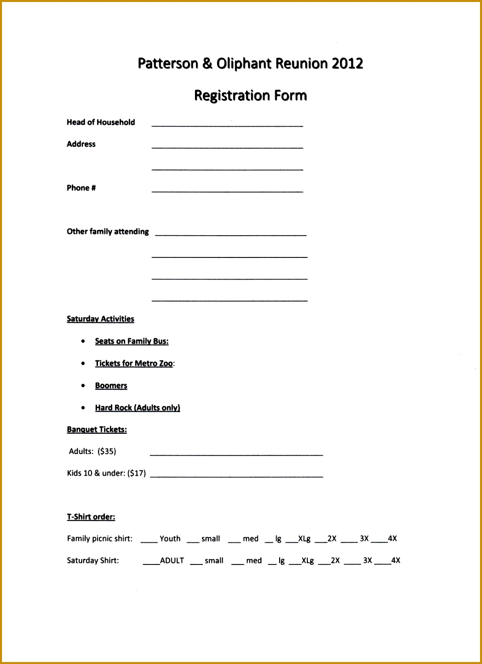Event Registration Form Template Word Free Fundraising Flyer Templates  Printable Example Family Reunion Program Patterson 1341974  Event Registration Form Template Word