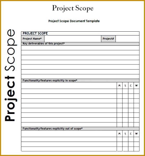 7 Project Documentation Sample Pdf | FabTemplatez