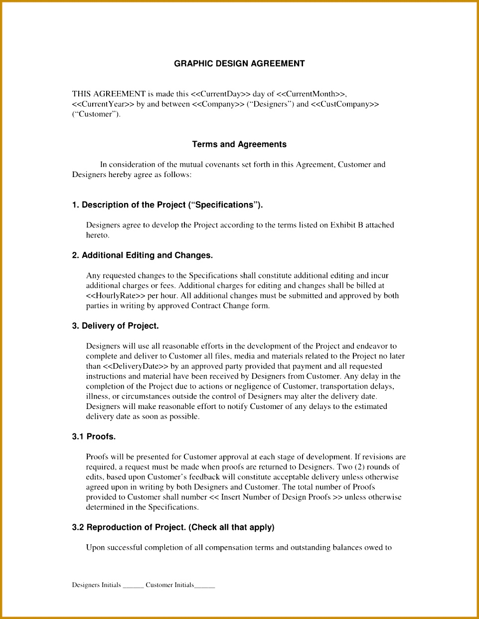 Business Risk Management Plan Template Design Contract Template Cp Graphicdesign Sample 2 Contract Paper Sample Paper Registration Form Template 1241961