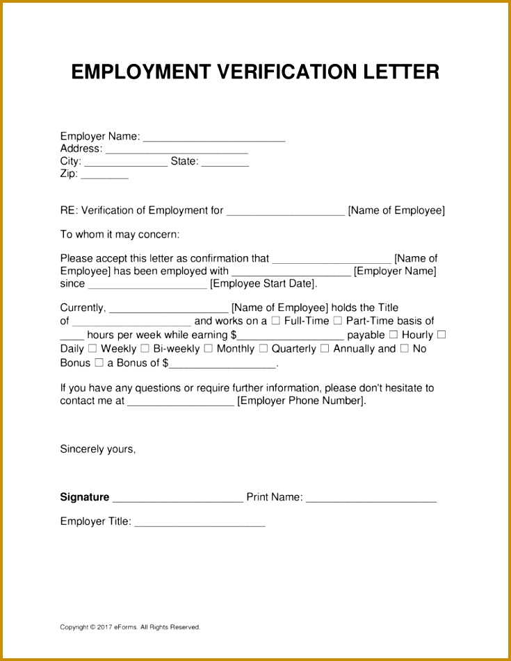 Free Employment In e Verification Letter Template PDF Word 735952