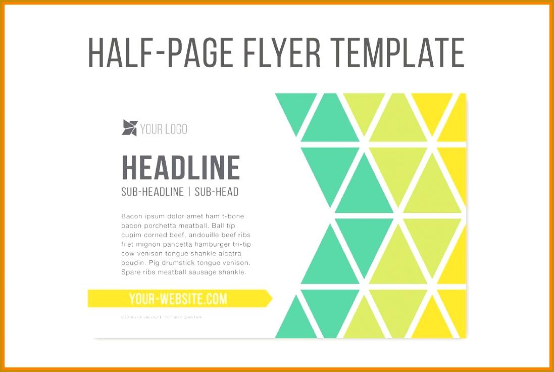 7 Quarter Sheet Flyer Template Word Fabtemplatez