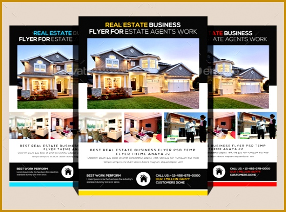 Best Real Estate Flyer Templates Real Estate Flyers 20 Free Pdf Psd Ai Vector Eps Format Free 558415