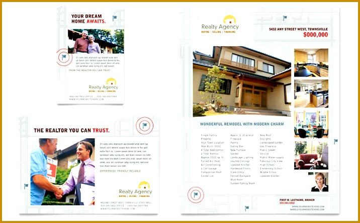 Real Estate Agent & Realtor Flyer & Ad 443716