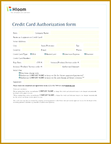 Single or Recurring Invoice Charge Authorization 355459