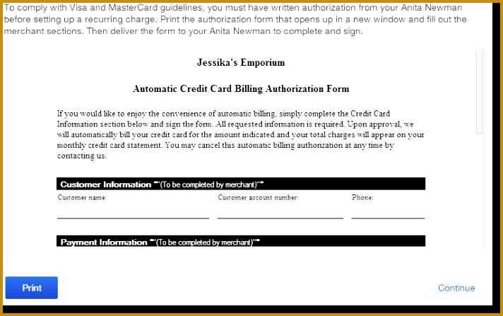 recurring credit card billing Quickbooks New York 447712