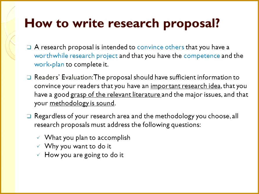Masters Research Project Proposal in Kenya Template Master Degree P Detailed outline of Research Proposal Slide 669892