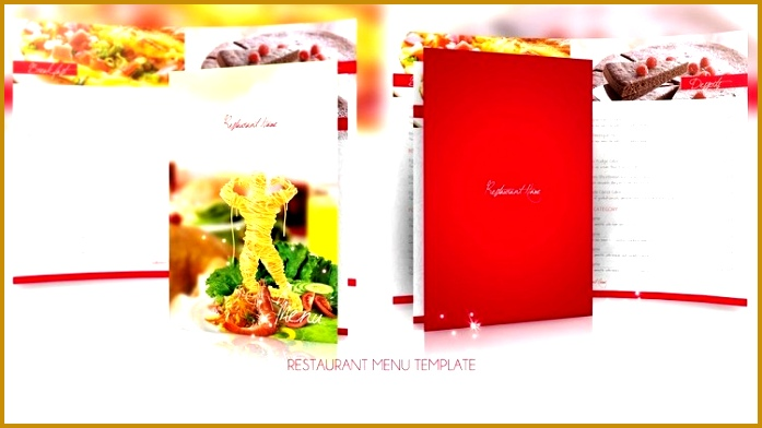 20 Fresh Free PSD Restaurant Menu Templates 392697