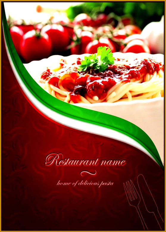 Restaurant menu quintrex web design 558783