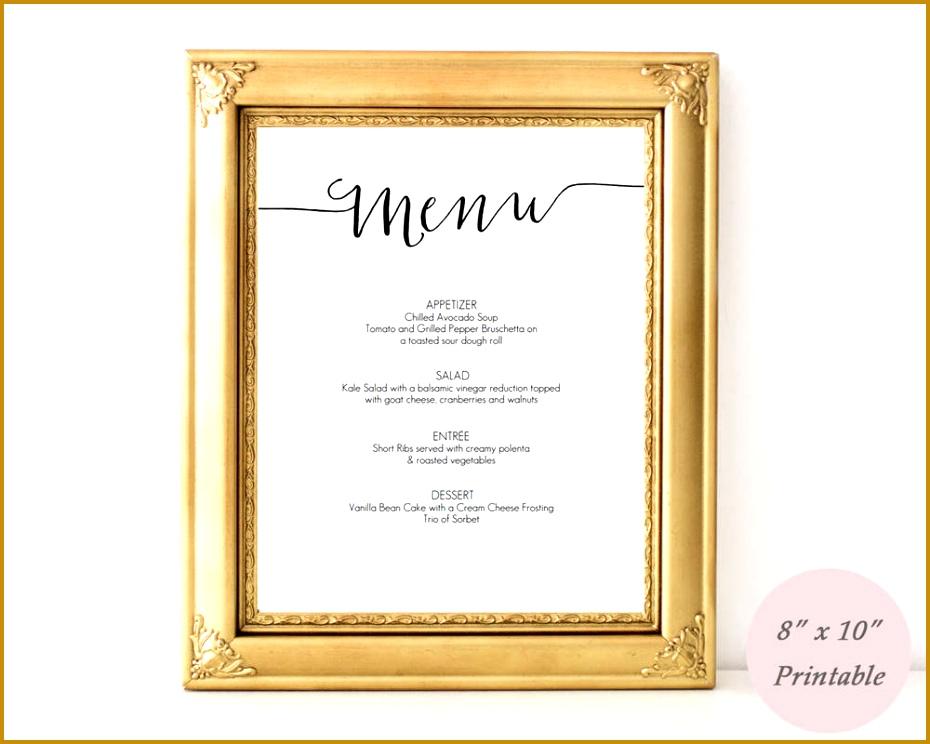 free printable menus for restaurants