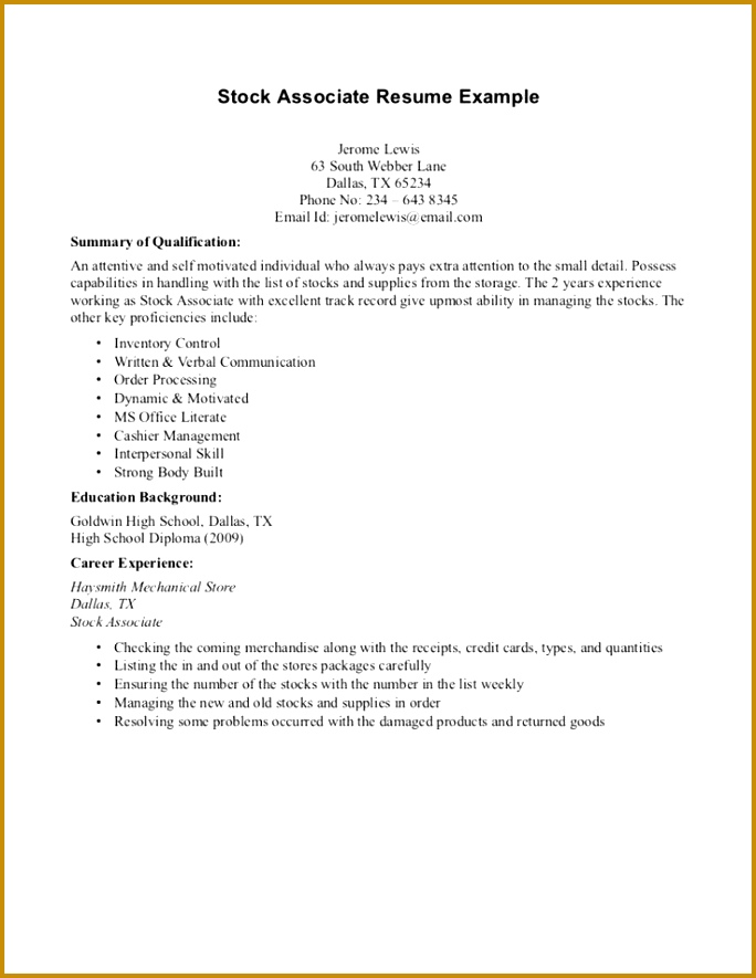 Resume writing for high school students 3rd
